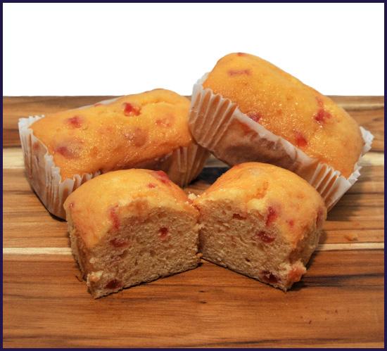 Krinkle Cherry Cakes