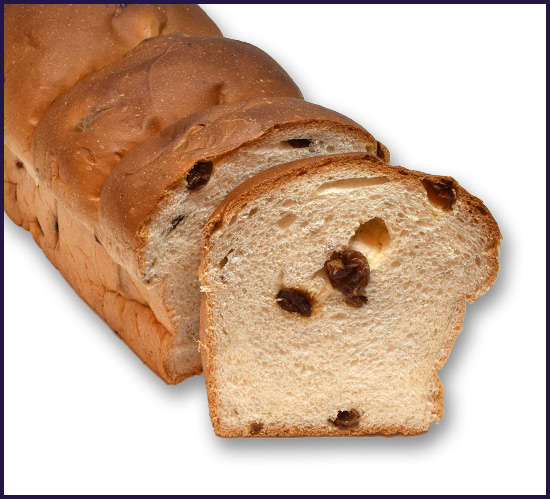 Sweet Bread Raisin 3 bun