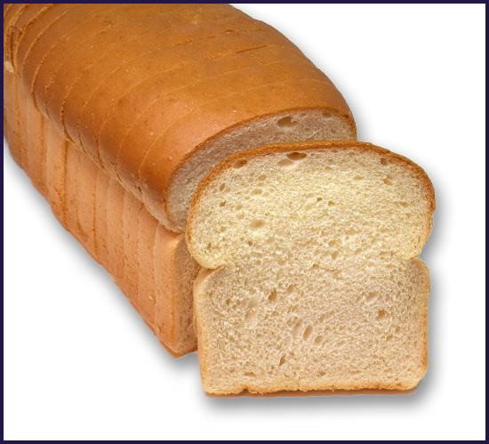 White Bread thin sliced